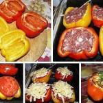 фаршированные перцы рецепт с фото