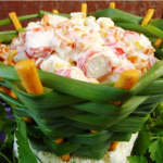 салат в корзинке фото