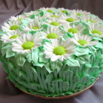 торт ромашки из мастики рецепт фото
