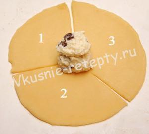Ватрушки розочки рецепт с фото