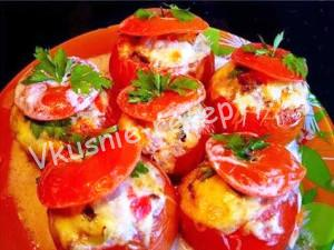 закуска из помидор рецепт с фото