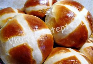 пасхальные булочки рецепт с фото