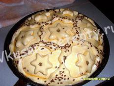 Пирог Кружевной рецепт с фото