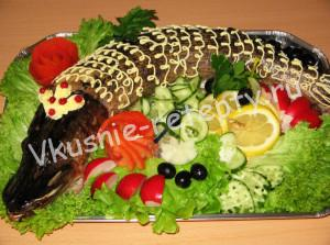 рыба фаршированная рецепт с фото