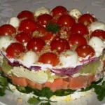 Свежий салат фото