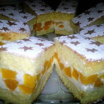 Торт с творожным кремом фото