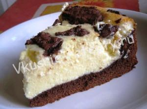 творожный пирог Бурёнка фото