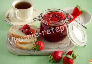 клубничное варенье рецепт с фото
