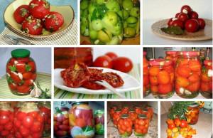 лучшие рецепты помидоров на зиму фото