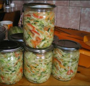 салат из кабачков фото