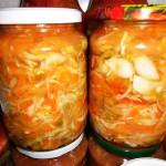 Салат Охотничий на зиму рецепт с фото