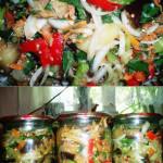 закуска с баклажанами на зиму рецепт с фото