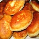 пирожки на кефире фото