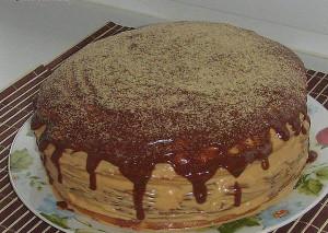 Простой и вкусный торт «Мишутка»