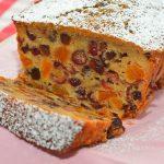 Рождественский английский кекс получается очень пряный, нарядный и праздничный, к тому же, подкупило полное отсутствие масла.