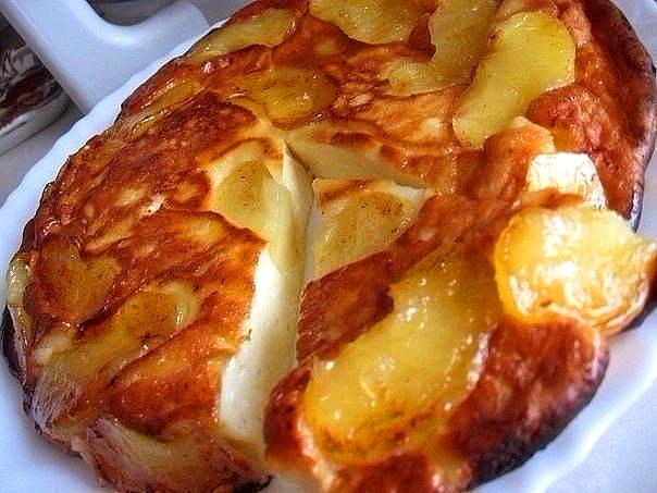 ТВОРОЖНО-ЯБЛОЧНАЯ ЗАПЕКАНКА — готовится из простых продуктов, а выглядит — как деликатес из шикарного ресторана.