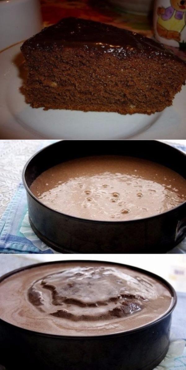 Шоколадный бисквит. Мои каждый день просят! Советую приготовить!