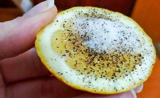 Соль, перец и лимон могут решить эти 9 проблем лучше любого лекарства!