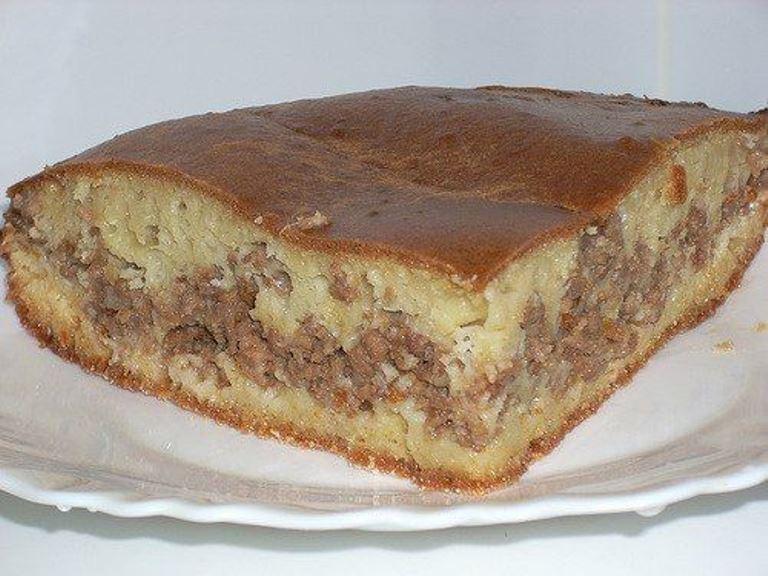 Ужин без забот и хлопот - обалденный пирог с фаршем