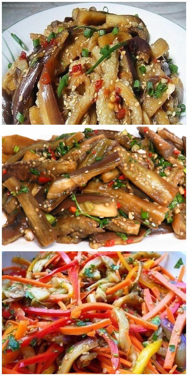 Баклажаны по-корейски, которые станут настоящим деликатесом на вашем столе