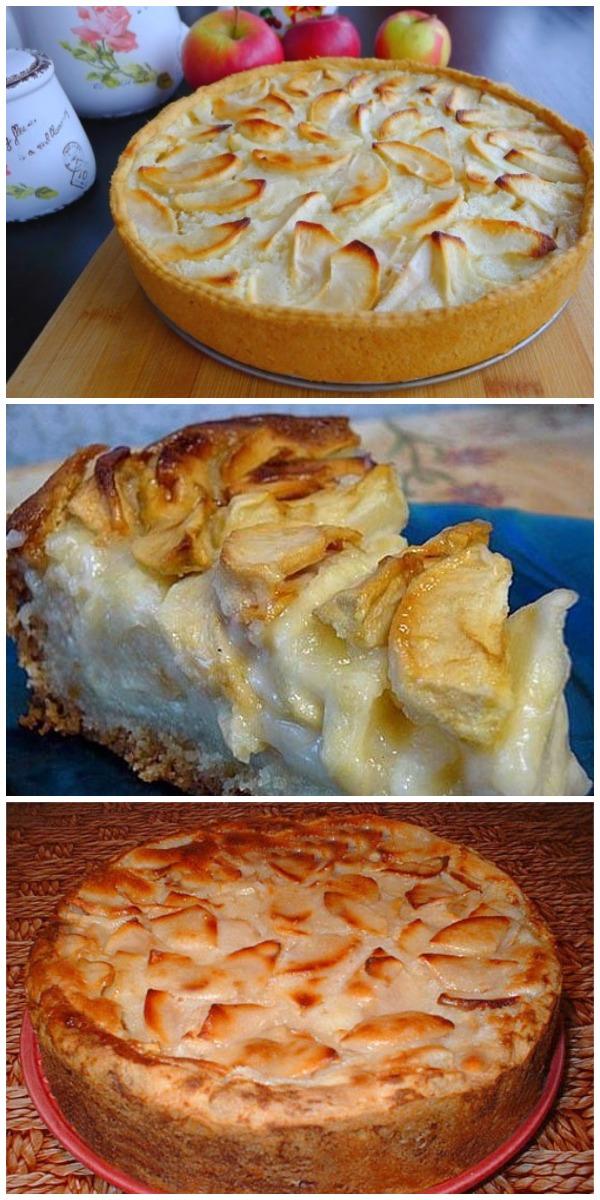 Цветаевский яблочный пирог – хочется съесть весь, до чего же вкусный.