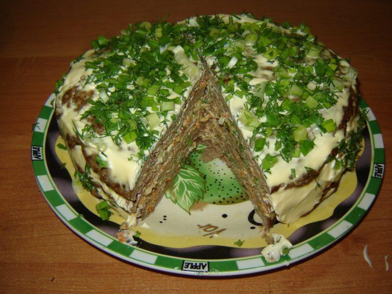 Печеночный торт. Самый правильный рецепт