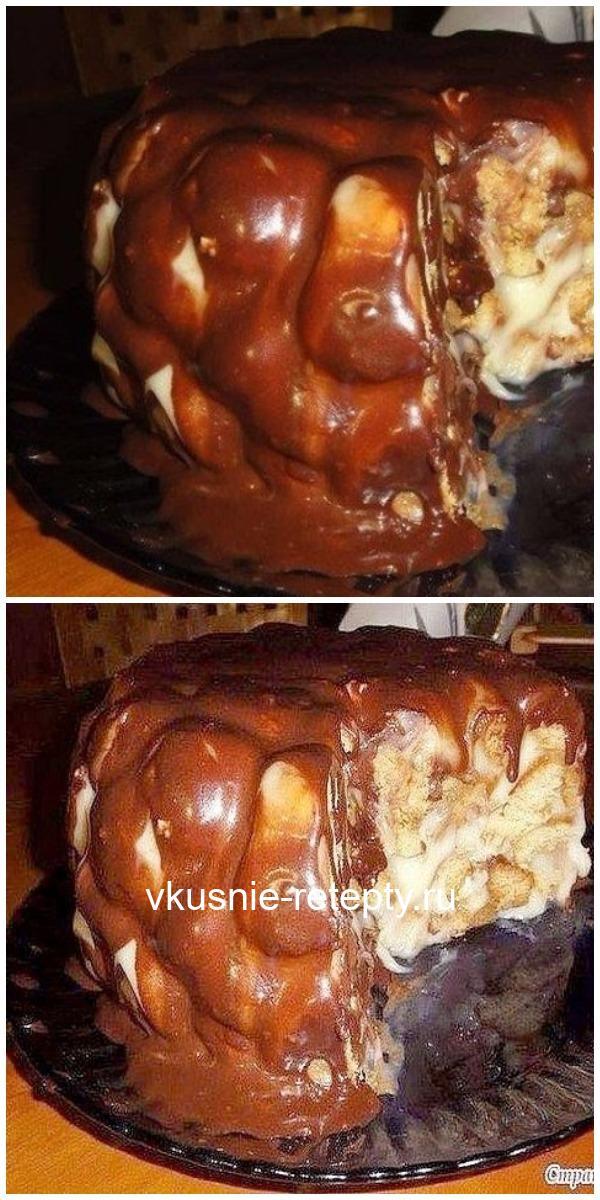 Если бы Вы знали, как я долго искала этот рецепт!Этот торт просто находка, кто не любит возиться с коржами! ВКУСНО!